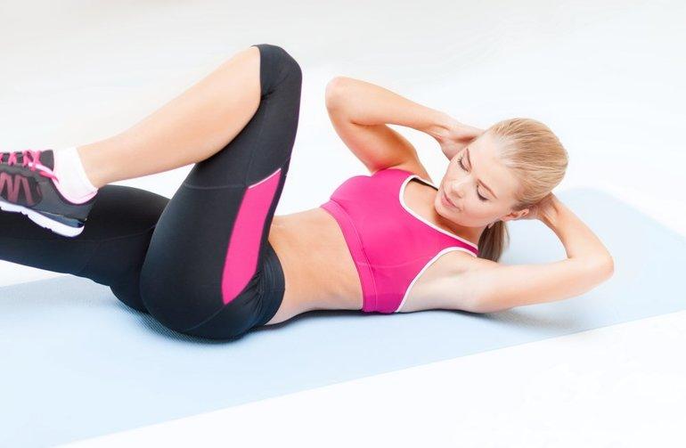 Упражнения на брюшную область