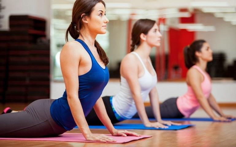 Упражнение вытягивание