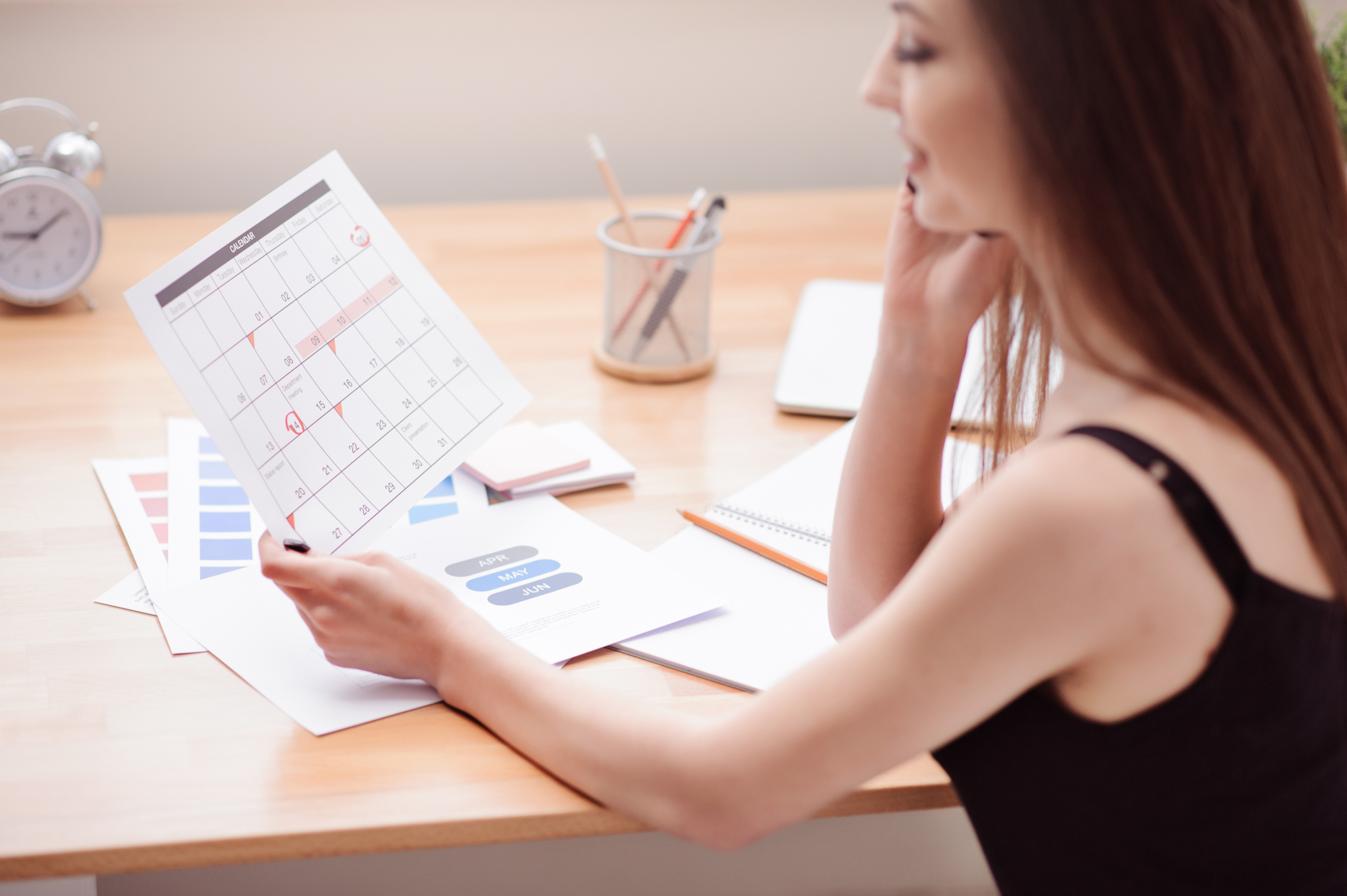 Фазы менструационного цикла по дням схема