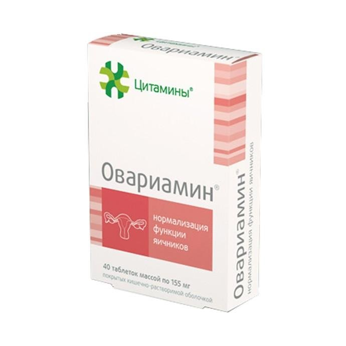 Овариамин инструкция по применению при климаксе